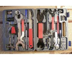 Набор велоинструментов, 21 шт, в кейсе