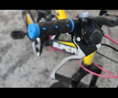 Велосипед спортивный подростковый скоростной двухподвес